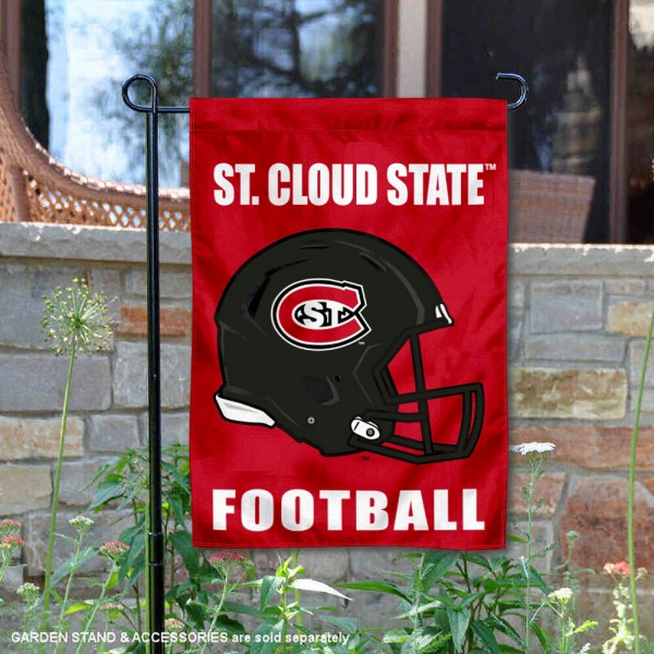 SCSU Huskies Helmet Yard Garden Flag is 13x18 inches in size, is made of 2-layer polyester with Liner, screen printed university athletic logos and lettering, and is readable and viewable correctly on both sides. Available same day shipping, our SCSU Huskies Helmet Yard Garden Flag is officially licensed and approved by the university and the NCAA.