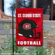SCSU Huskies Helmet Yard Garden Flag