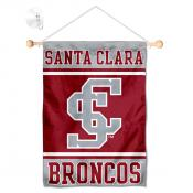 SCU Broncos Window and Wall Banner
