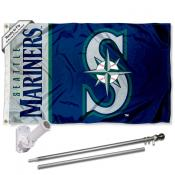 Seattle Mariners Flag Pole and Bracket Kit