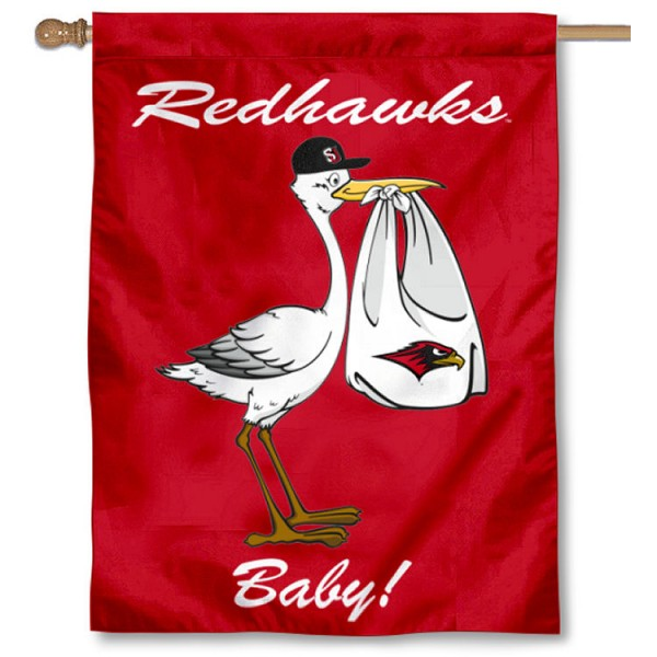 Seattle Redhawks New Baby Flag measures 30x40 inches, is made of poly, has a top hanging sleeve, and offers dye sublimated Seattle Redhawks logos. This Decorative Seattle Redhawks New Baby House Flag is officially licensed by the NCAA.
