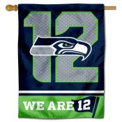 Seattle Seahawks 12th Man 12s Double Sided House Banner