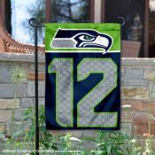 Seattle Seahawks 12th Man Garden Banner Flag