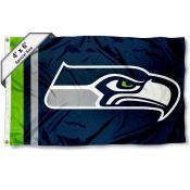 Seattle Seahawks 4x6 Flag