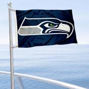 Seattle Seahawks Boat and Nautical Flag