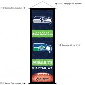 Seattle Seahawks Decor and Banner