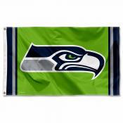 Seattle Seahawks Green Flag