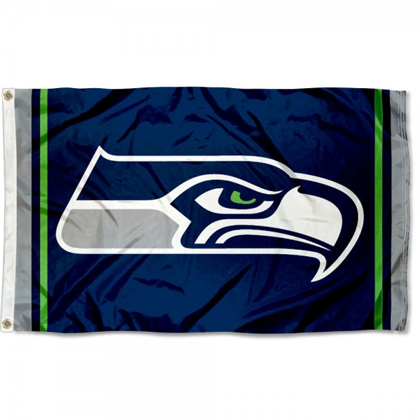 Seattle Seahawks Logo Flag