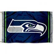 Seattle Seahawks Logo Flag