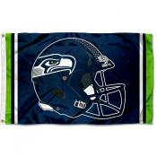 Seattle Seahawks New Helmet Flag