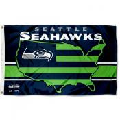Seattle Seahawks USA Country Flag