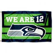 Seattle Seahawks We are 12 Flag
