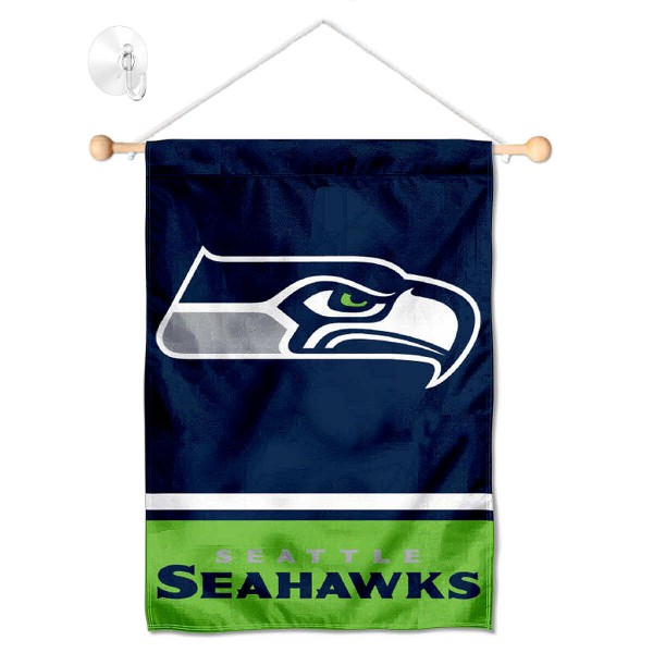 Seattle Seahawks Window and Wall Banner