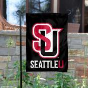 Seattle U Redhawks Garden Flag
