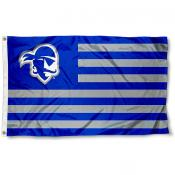 Seton Hall Pirates Stripes Flag