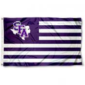 SFA Lumberjacks Stripes Flag