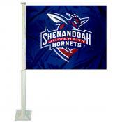 Shenandoah Hornets Logo Car Flag