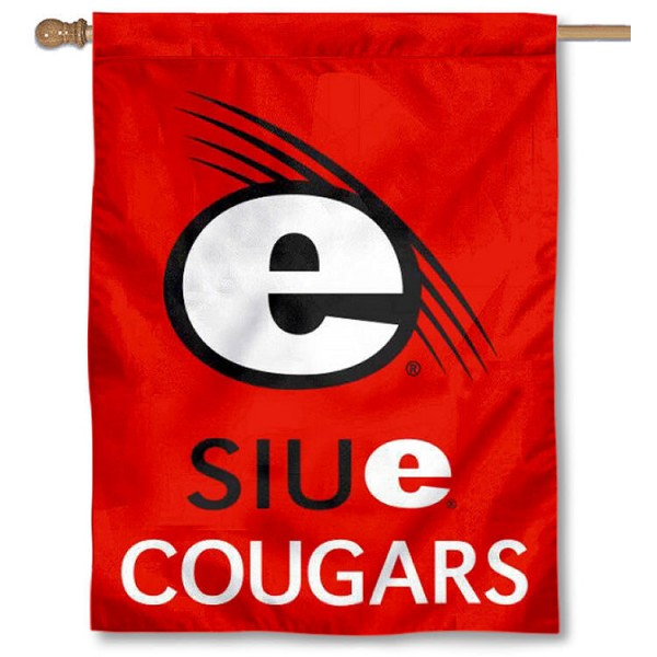 SIU Edwardsville Banner Flag is a vertical house flag which measures 30x40 inches, is made of 2 ply 100% polyester, offers dye sublimated NCAA team insignias, and has a top pole sleeve to hang vertically. Our SIU Edwardsville Banner Flag is officially licensed by the selected university and the NCAA.