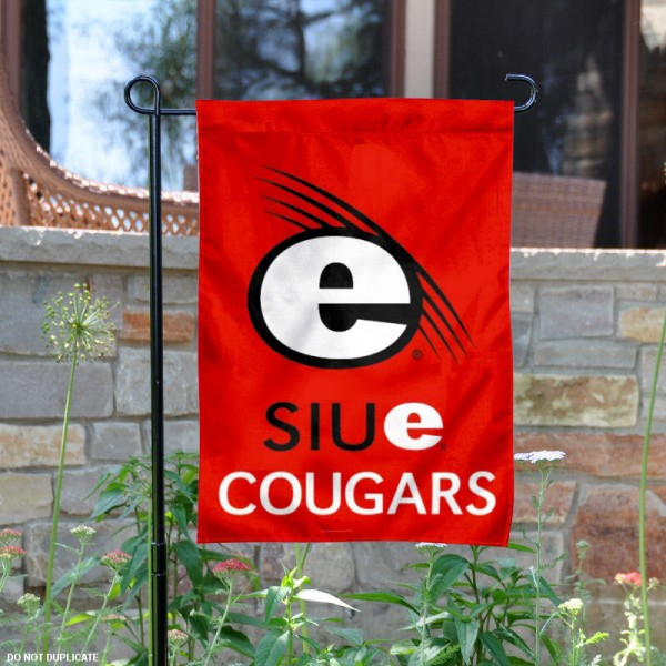 SIUE Cougars Garden Flag is 13x18 inches in size, is made of 2-layer polyester, screen printed SIUE Cougars athletic logos and lettering. Available with Same Day Express Shipping, Our SIUE Cougars Garden Flag is officially licensed and approved by SIUE Cougars and the NCAA.