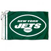 Small New York Jets 2x3 Foot Flag