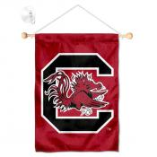 South Carolina Gamecocks Banner with Suction Cup