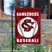 South Carolina Gamecocks Baseball Team Garden Flag