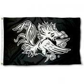 South Carolina Gamecocks Black Flag