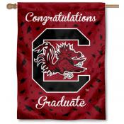 South Carolina Gamecocks Congratulations Graduate Flag