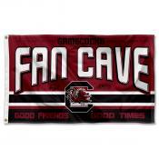 South Carolina Gamecocks Fan Man Cave Game Room Banner Flag