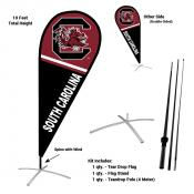South Carolina Gamecocks Feather Flag Kit