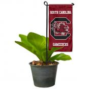 South Carolina Gamecocks Flower Pot Topper Flag