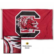 South Carolina Gamecocks Nylon Embroidered Flag