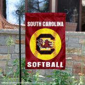 South Carolina Gamecocks Softball Garden Flag