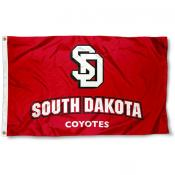 South Dakota Coyotes 3x5 Flag