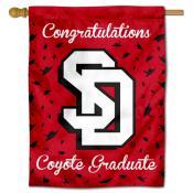 South Dakota Coyotes Congratulations Graduate Flag