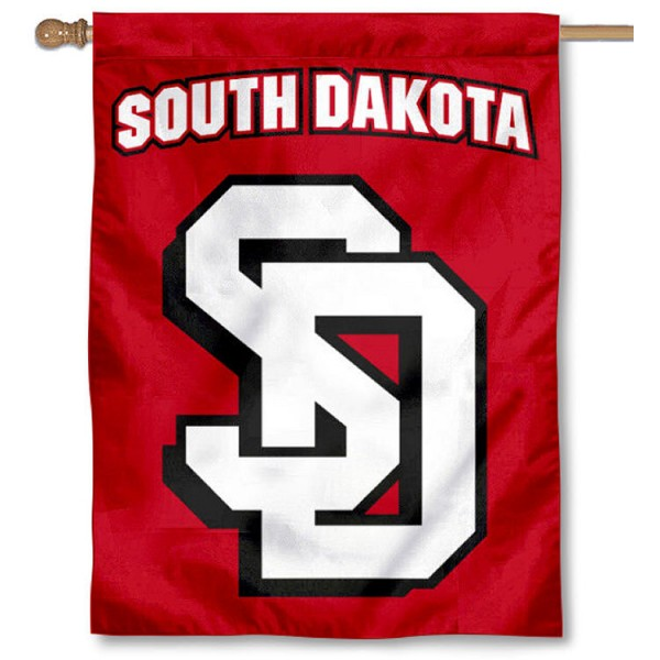 South Dakota Coyotes Double Logo Flag is a vertical house flag which measures 30x40 inches, is made of 2 ply 100% polyester, offers dye sublimated NCAA team insignias, and has a top pole sleeve to hang vertically. Our South Dakota Coyotes Double Logo Flag is officially licensed by the selected university and the NCAA.