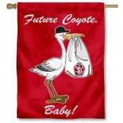 South Dakota Coyotes New Baby Flag