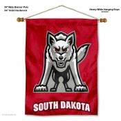 South Dakota Coyotes Wall Banner