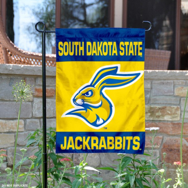 South Dakota State University Garden Flag is 13x18 inches in size, is made of 2-layer polyester, screen printed South Dakota State University athletic logos and lettering. Available with Same Day Express Shipping, Our South Dakota State University Garden Flag is officially licensed and approved by South Dakota State University and the NCAA.