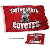 South Dakota USD Coyotes Double Sided 3x5 Flag