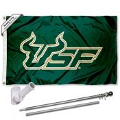 South Florida Bulls Flag Pole and Bracket Kit