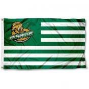 Southeastern Louisiana Lions Stripes Flag
