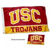Southern Cal Trojans Double Sided Flag
