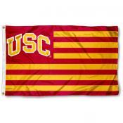 Southern Cal Trojans Stripes Nation Flag