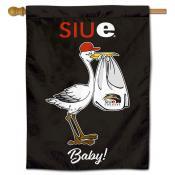 Southern Illinois Edwardsville Cougars New Baby Flag