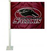 Southern Illinois Salukis Car Window Flag