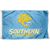 Southern Jaguars Light Blue Flag