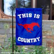 Southern Methodist University Country Garden Flag