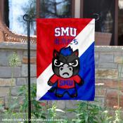 Southern Methodist University Tokyo Dachi Mascot Yard Flag