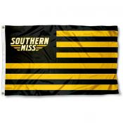 Southern Miss Eagles Stripes Flag